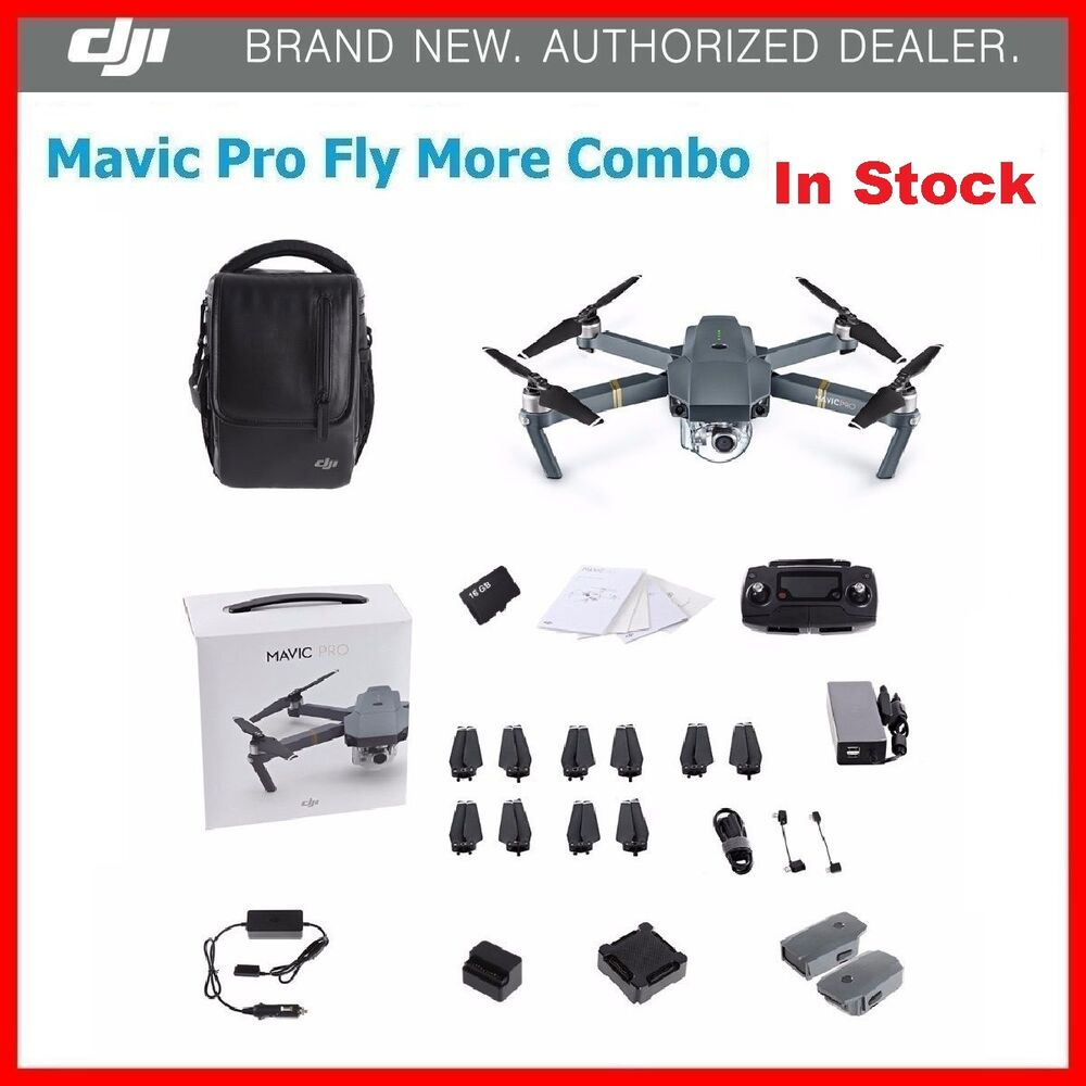new dji mavic pro fly more combo in stock first come first. Black Bedroom Furniture Sets. Home Design Ideas