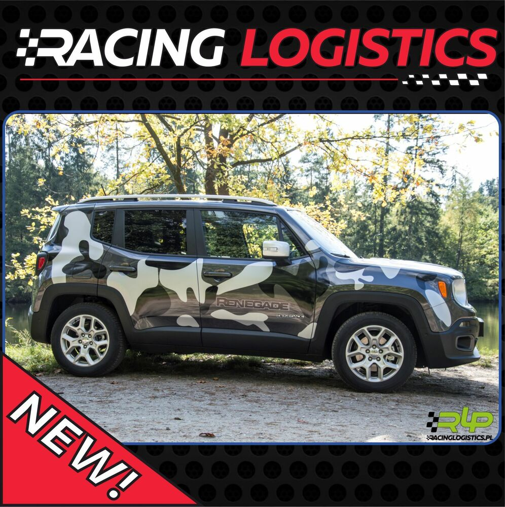 Camouflage Camo Oval Universal Topquality Vinyl Jeep