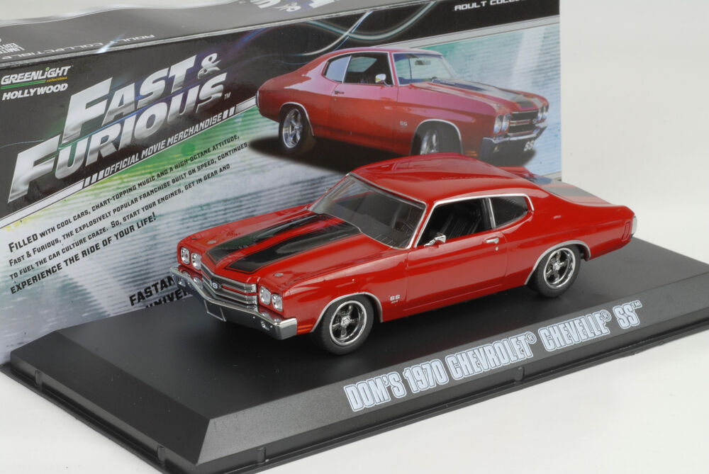 1970 Doms Chevrolet Chevelle SS red rot Fast & and Furious ...