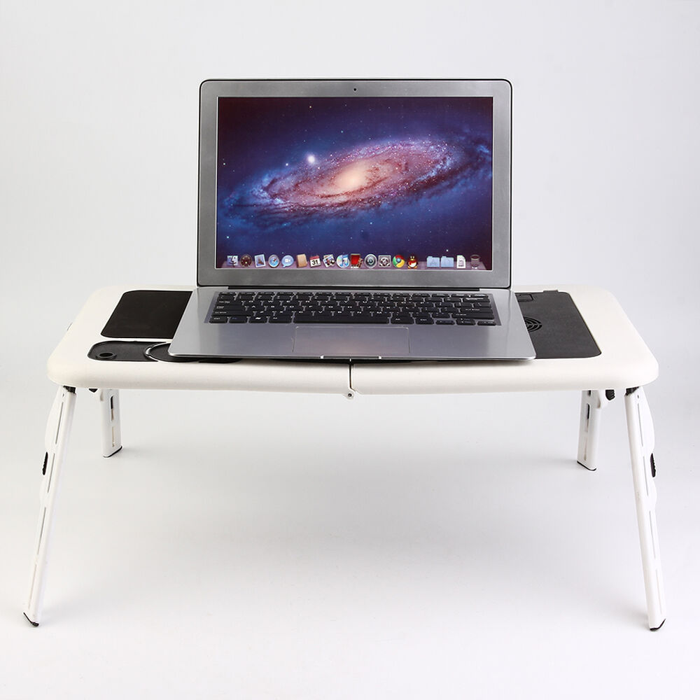 adjustable portable laptop notebook desk table foldable. Black Bedroom Furniture Sets. Home Design Ideas