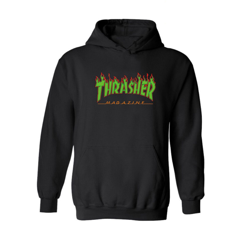 Fashion Men's hoodie sweater Hip-hop skateboard Thrasher ...