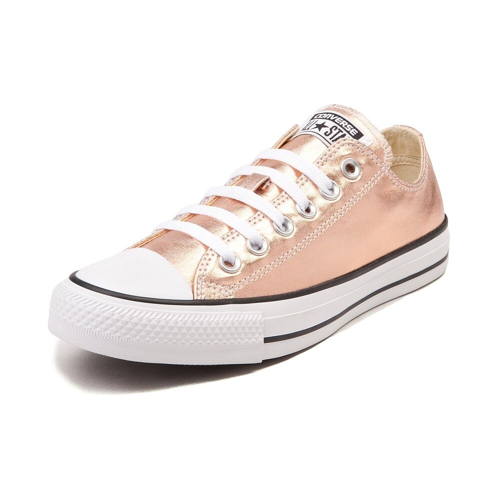 new converse chuck taylor all star lo metallic sneaker rose gold. Black Bedroom Furniture Sets. Home Design Ideas