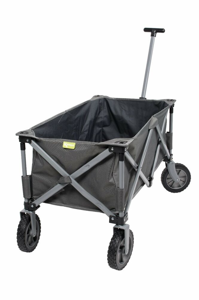 Beach Camping Trolley 100kg Weight Capacity Foldable