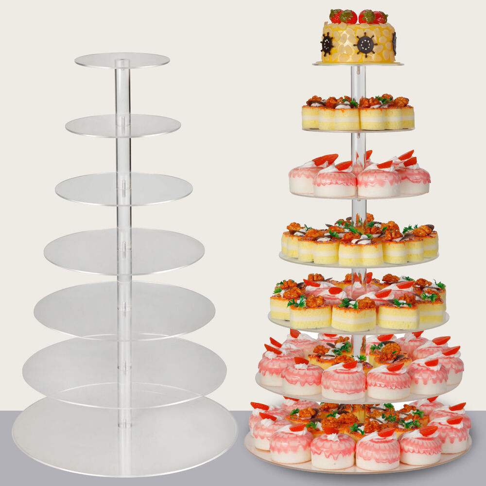 Cake And Cupcake Tower Stands
