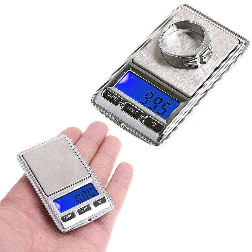 Mini pocket electronic scale 100g 200g lcd for Mini digital jewelry pocket gram scale