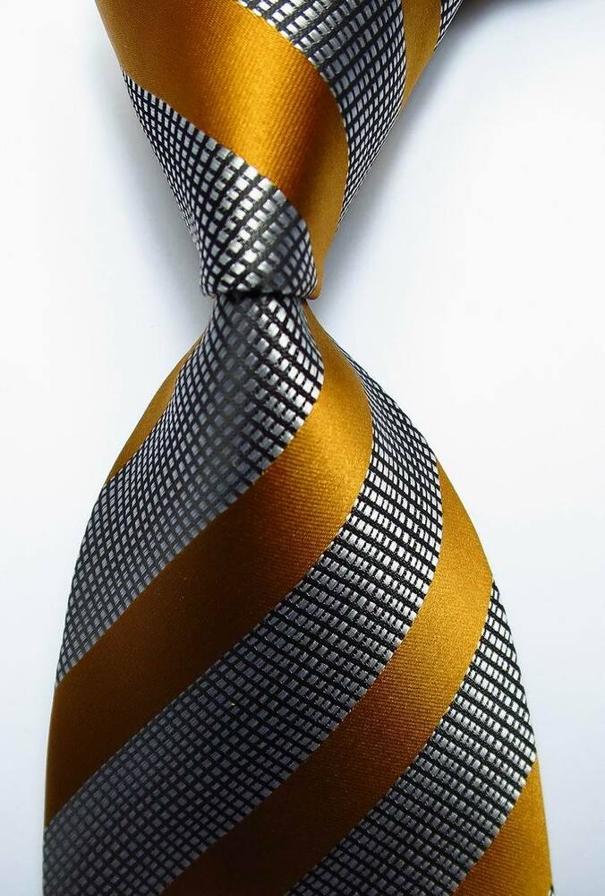Opinion you gold and white striped tie