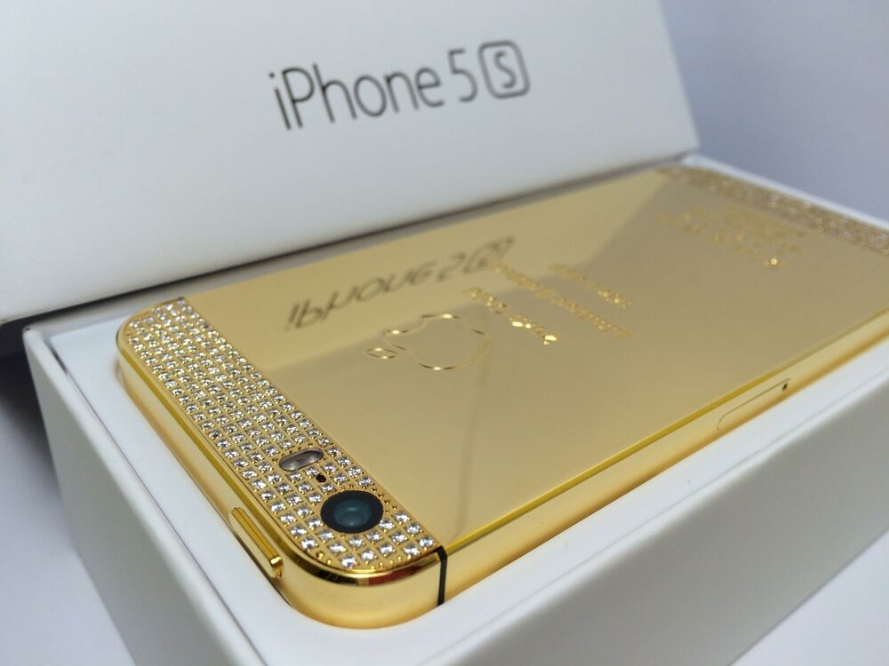 K Gold Plated Iphone