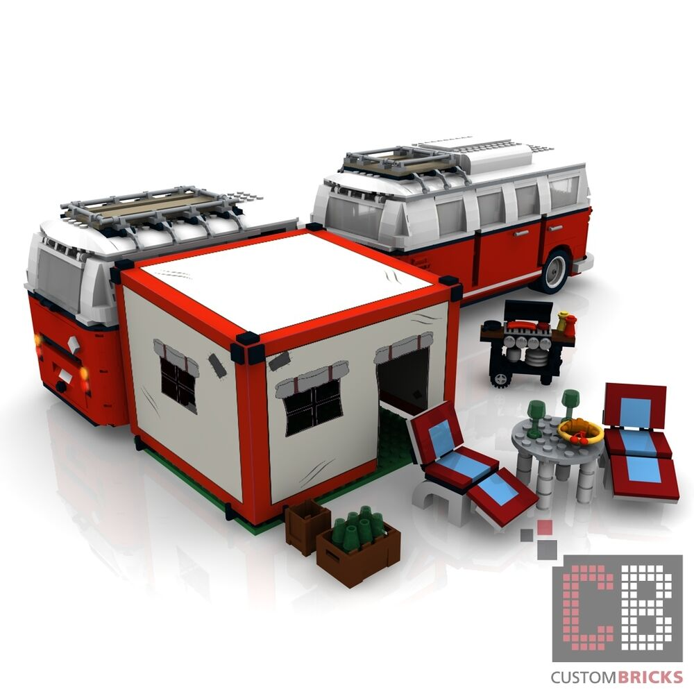bauanleitung eigenbau pdf camping vorzelt grill f r lego. Black Bedroom Furniture Sets. Home Design Ideas