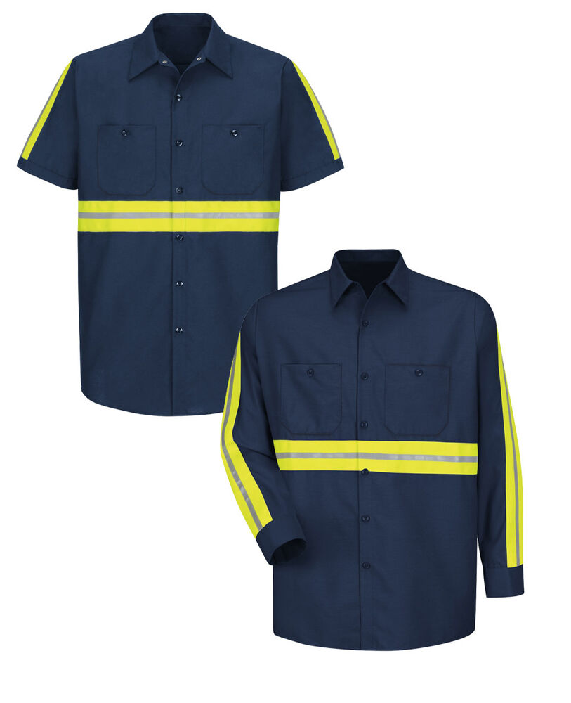 Reed Enhanced Visibility Shirts Hi Vis Reflective Safety