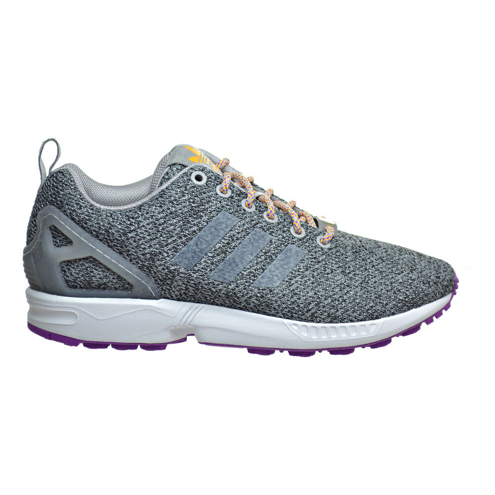 b0e54f95905d8 Details about Adidas ZX Flux Women s Shoes Solid Grey Solid Grey Solar Gold  aq4778