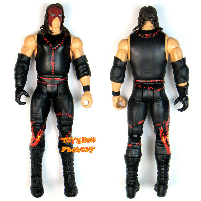 "Wwe Action Figures Kane: WWF WWE Kane "" The Big Red Machine "" Wrestling Action"