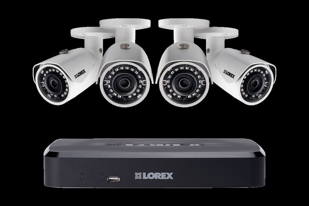 Lorex Ln10802 84w 2k Ip Security Cam System 8 Ch Nvr 4 Hd