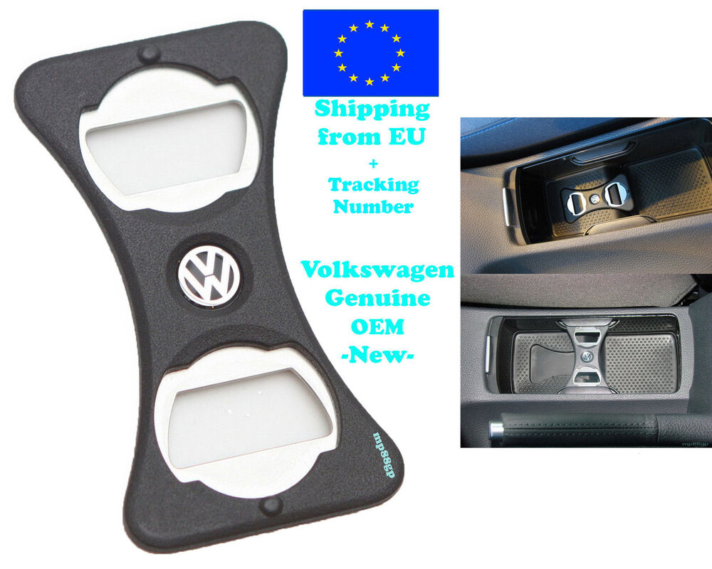 vw golf mk 5 6 gti r32 jetta scirocco bottle opener cup holder genuine oem new ebay. Black Bedroom Furniture Sets. Home Design Ideas