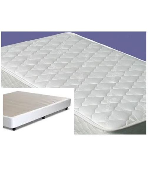 double mattress innerspring sl 18cm thick mattress and ensemble base