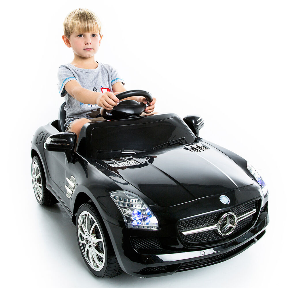 mercedes benz sls amg kids ride on car 6v electric. Black Bedroom Furniture Sets. Home Design Ideas