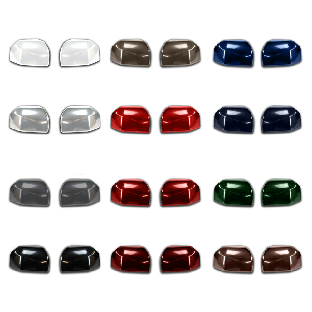 oem   ford super duty pre painted tt mirror cover caps pair  colors ebay