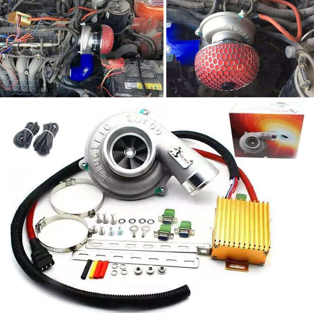Phantom Electric Supercharger Amazon: Electric Turbo Supercharger Thrust Motorcycle Turbocharge
