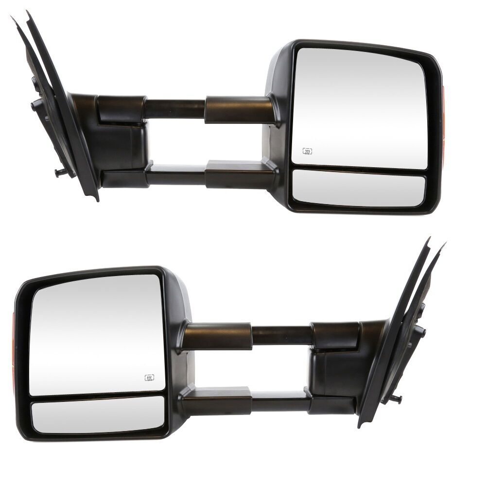 2015 Toyota Tundra Towing Mirrors >> Toyota Tundra 2007-2015 Power Heated with Signal Tow Towing Mirror Pair Set | eBay