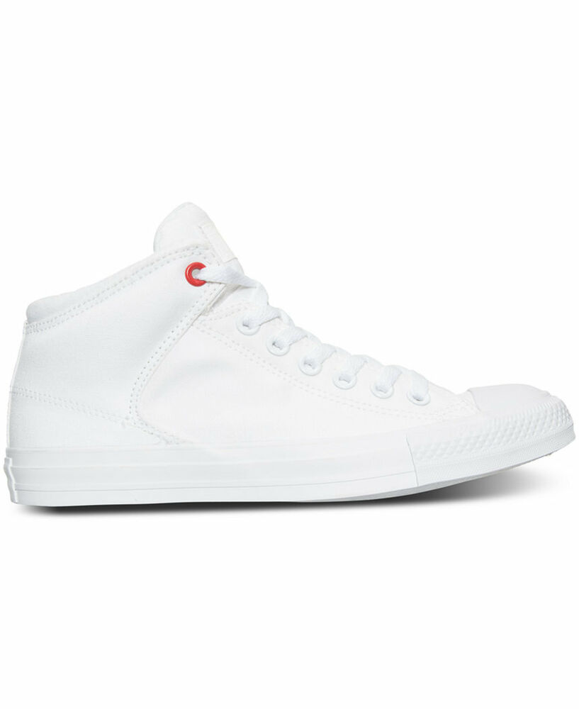 4b79406e6b88ab Details about Converse Chuck Taylor High St. Hi White White Mens Sneakers  153770C