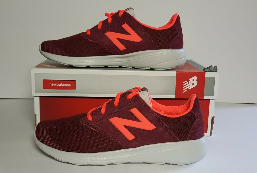 WOMEN'S NEW BALANCE 1320 RETRO SUEDE SHOES SZ 7 B RED/ORANGE WALKING WL1320OD