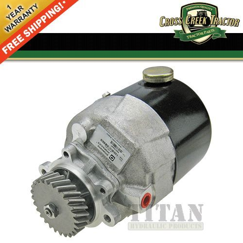 Ford Tractor Steering Parts : F nn k aa new ford tractor power steering pump d