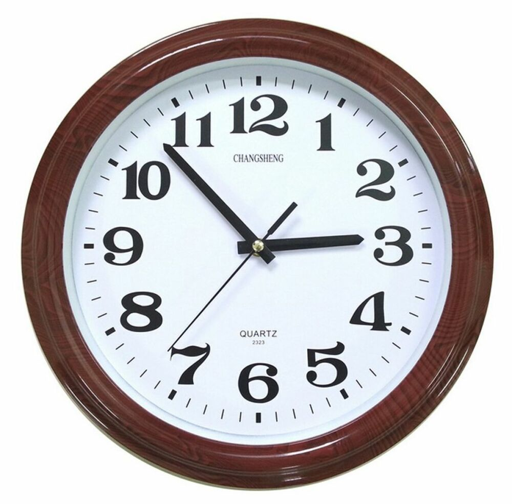 Bekith 12 retro non ticking silent quartz decorative wall clock battery operated ebay - Mondaine wall clock cm ...