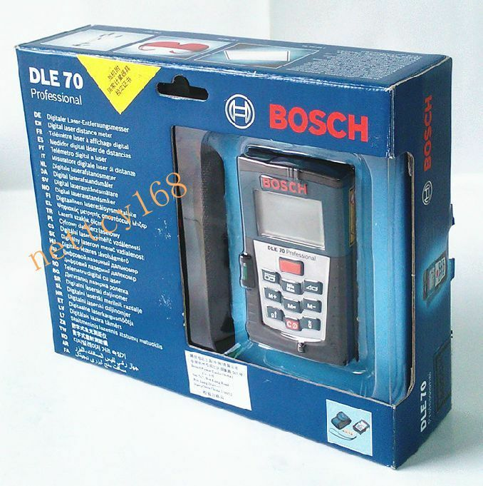 2042 bosch dle 70 laser distance meter tester ebay. Black Bedroom Furniture Sets. Home Design Ideas
