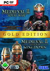 Total War: Medieval II - Gold Edition (PC, 2007, DVD-Box)