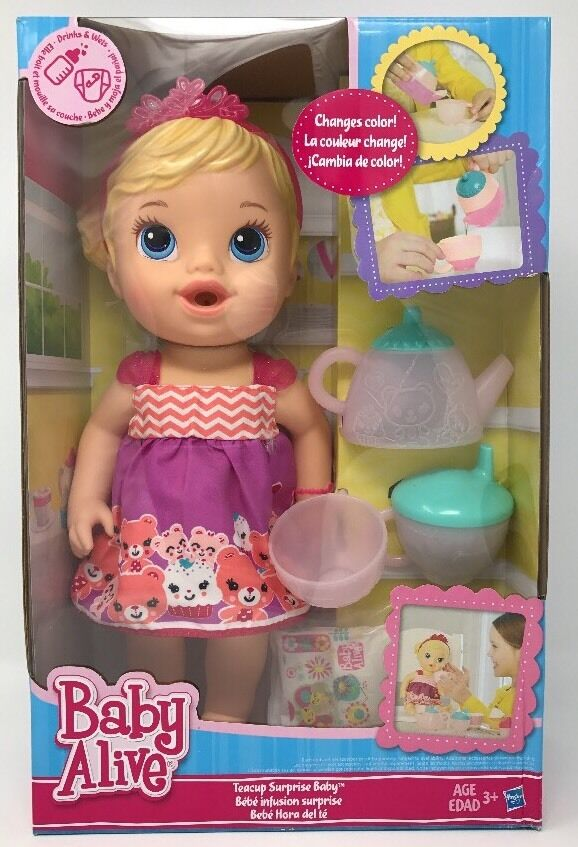 Baby Alive Teacup Surprise Baby Ebay