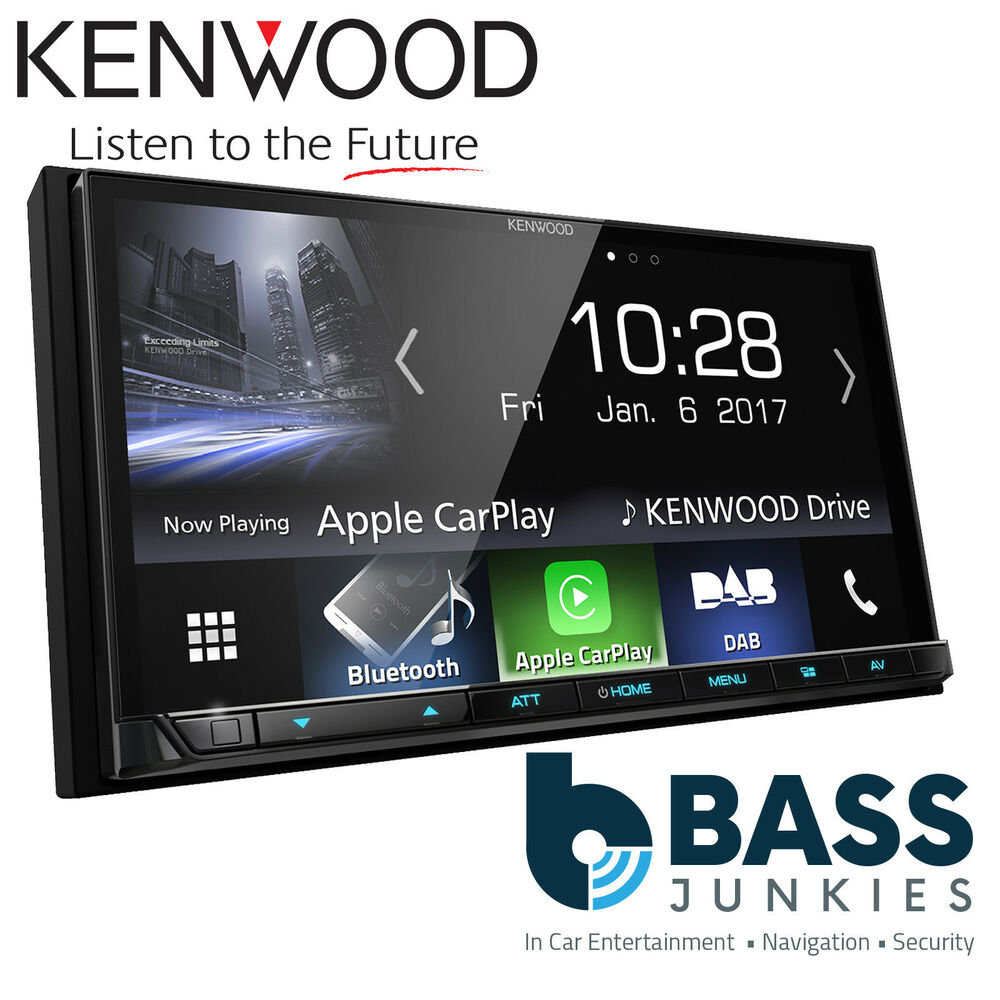 kenwood dmx 7017dabs 7 bluetooth dab radio apple carplay. Black Bedroom Furniture Sets. Home Design Ideas