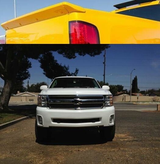 combo silverado ss bumper cover intimidator ss wing 2007 2013 nnbs ebay. Black Bedroom Furniture Sets. Home Design Ideas