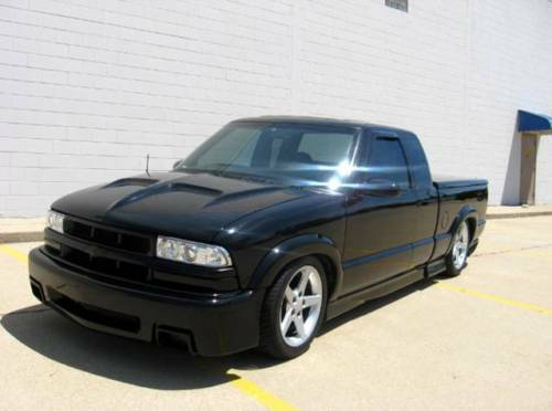 S L on 2002 Chevy S10 Blazer Xtreme