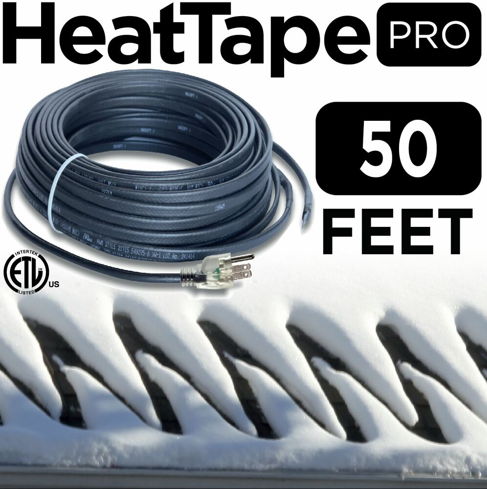 Heat Cable Commercial Plug In Self Regulating Heat Tape