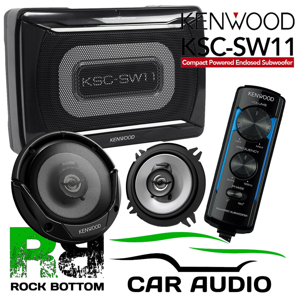 smart roadster 03 05 kenwood amplified underseat sub box. Black Bedroom Furniture Sets. Home Design Ideas