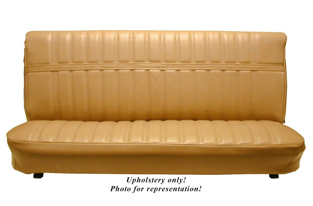 Pickup Bench Seat Cover >> 1973-80 Chevy/GMC Std Cab Front Bench Seat Upholstery, All Vinyl   eBay