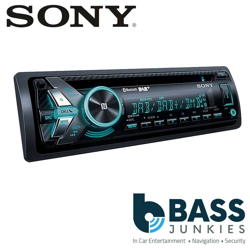 SONY MEX-N6000BD DAB Radio BLUETOOTH CD MP3 USB AUX IPhone