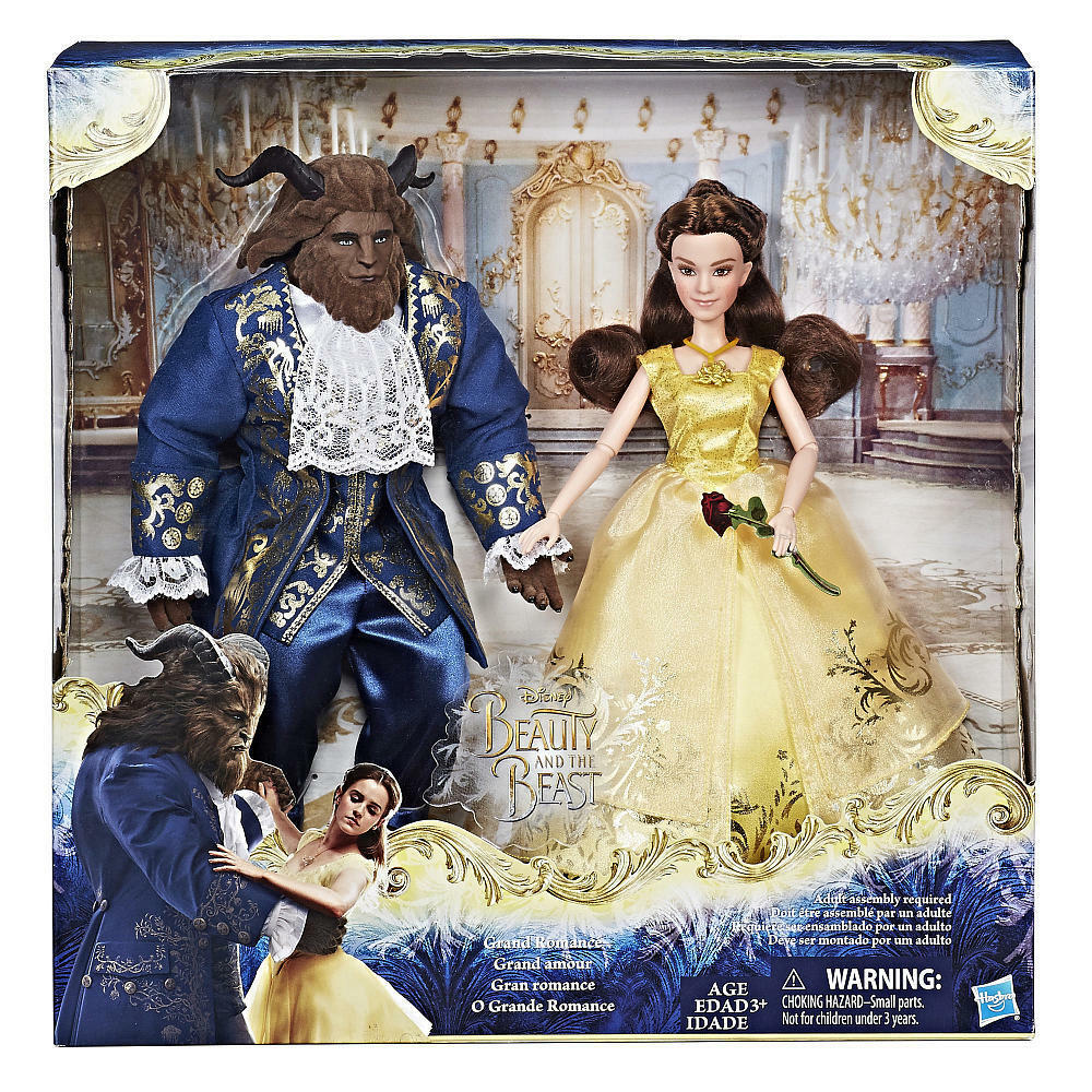 Disney Beauty And The Beast Movie Dolls Set 2017 NEW