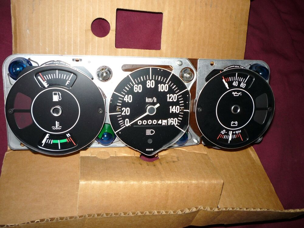 Jeep Digital Gauges : Nos amc jeep cherokee wagoneer j speedometer gauge