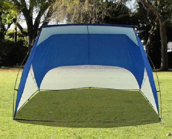 Portable Sports Canopy : Pop up beach tent shelter sun shade canopy sports umbrella