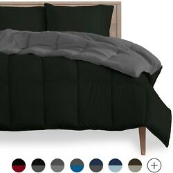 Kyпить Goose Down Alternative Reversible Comforter - Ultra Soft - All Season Breathable на еВаy.соm