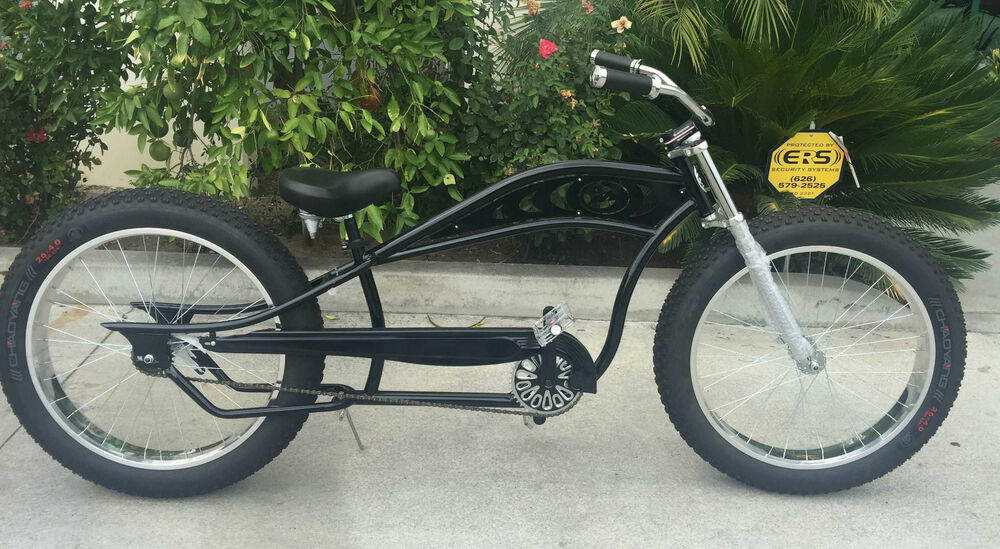 Seattle Stretch Beach Cruiser 26 X40 Fat Tire Snow Bike
