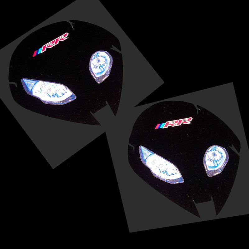 BMW Motorcycle Decals EBay - Motorcycle helmet decals graphicsappliedgraphics high visibility reflective motorcycle decals