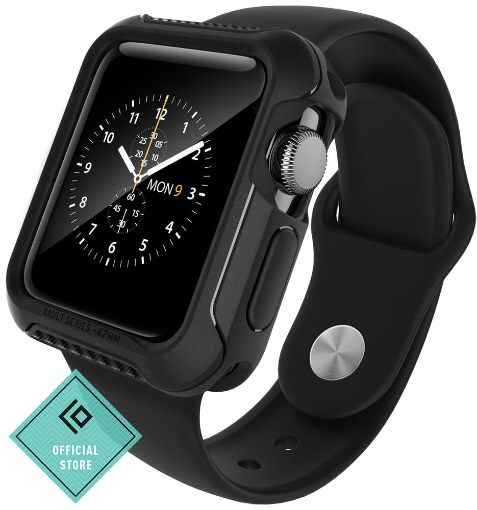 purchase cheap 572cc 87e85 Details about For Apple Watch Series 2 38mm Case Caseology® VAULT  Protective Slim Cover