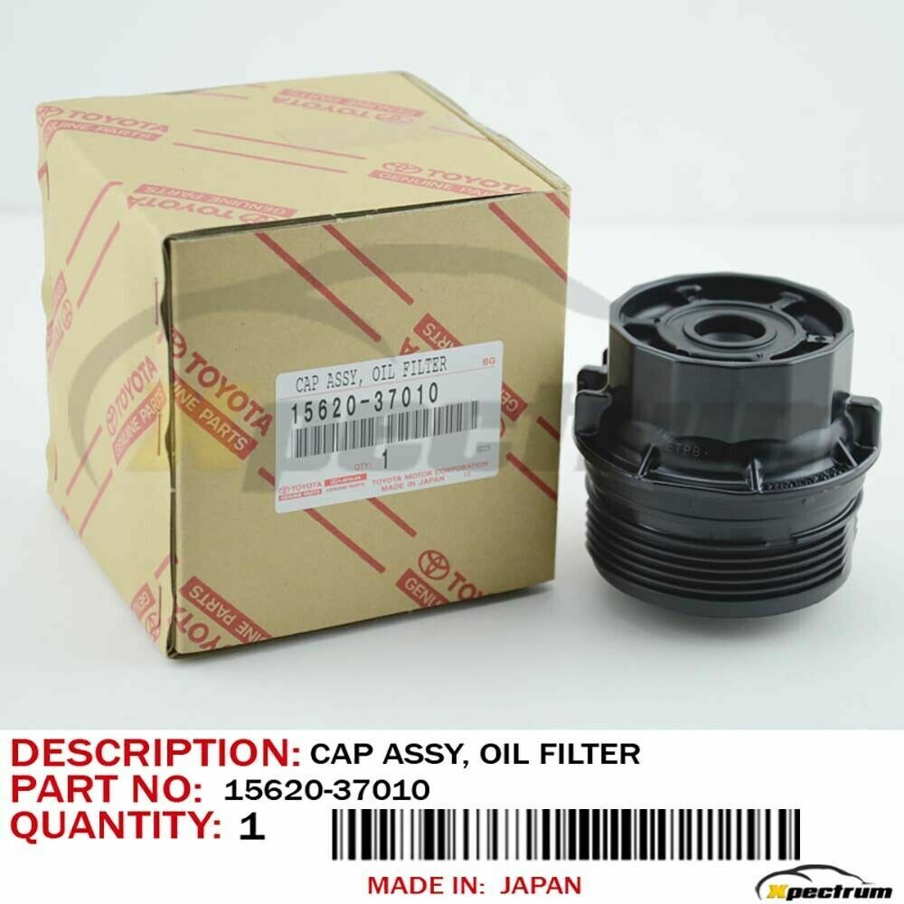 Toyota Oil Filter Cap Corolla Prius Matrix Scion Xd Original Oem 15620