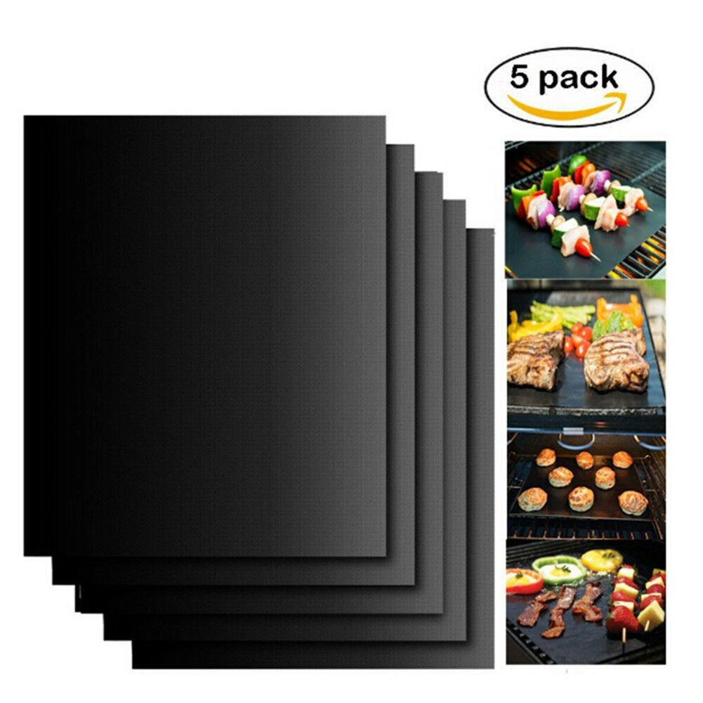 BBQ Grill Mats Teflon Non-stick Reusable Sheet Baking Mat