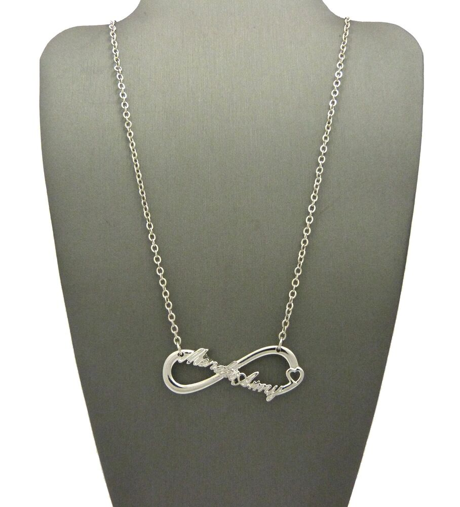 New Mendes Army Infinity Necklace Ebay