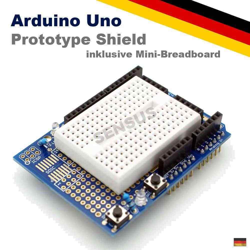 Arduino uno prototype proto shield v prototyping board