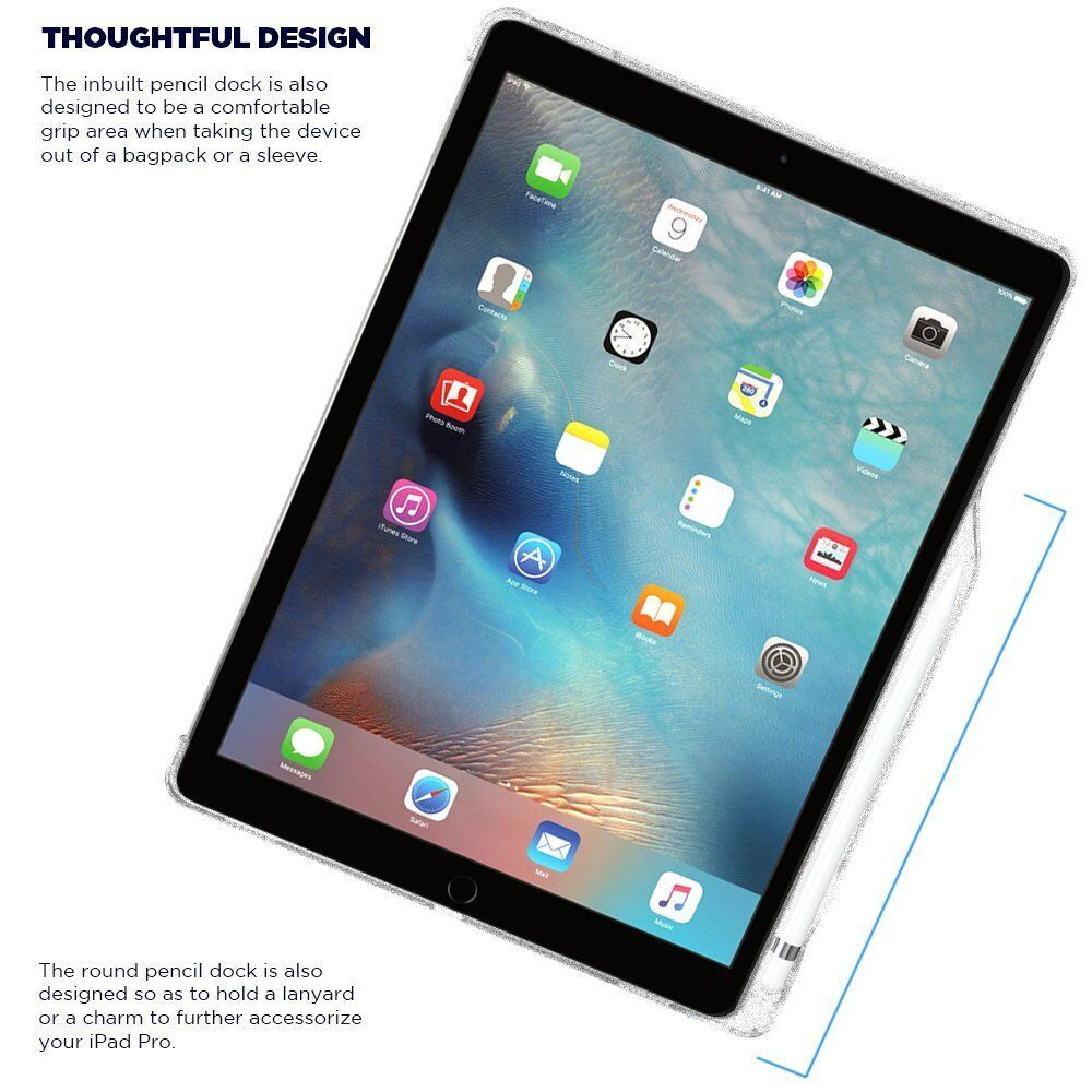 Poetic Ipad Pro 12 9 Case With Pencil Holder And Apple