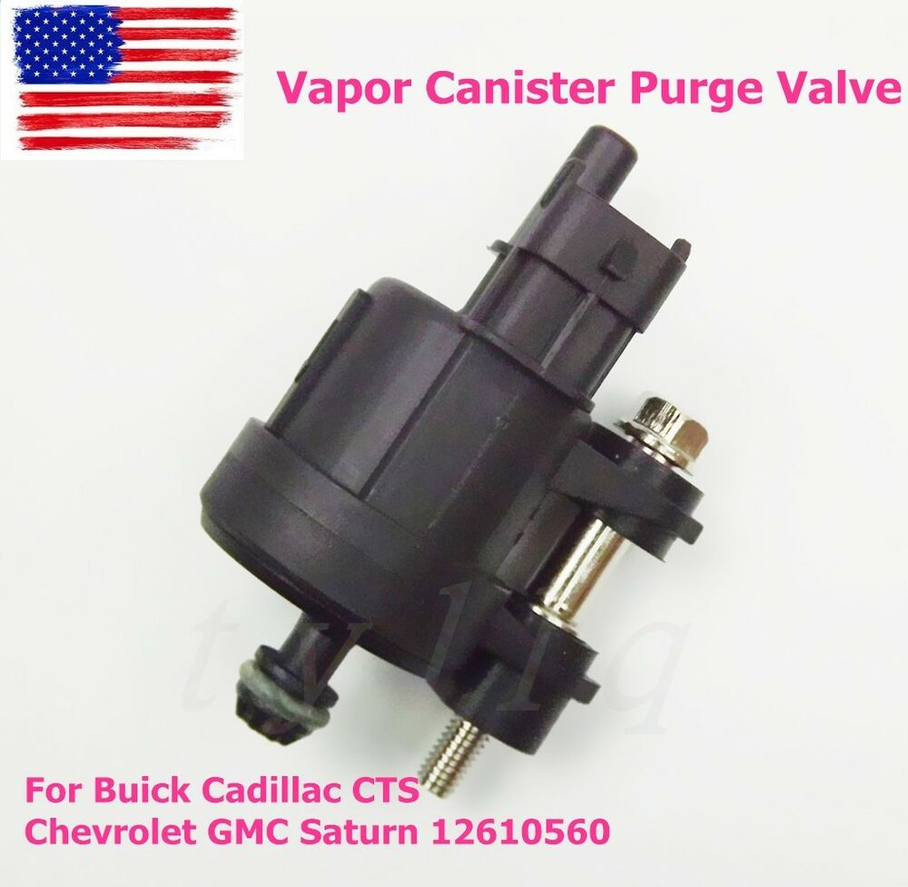 Vapor Canister Purge Valve For Buick Cadillac Cts Chevrolet Gmc Location Saturn 12610560 Ebay
