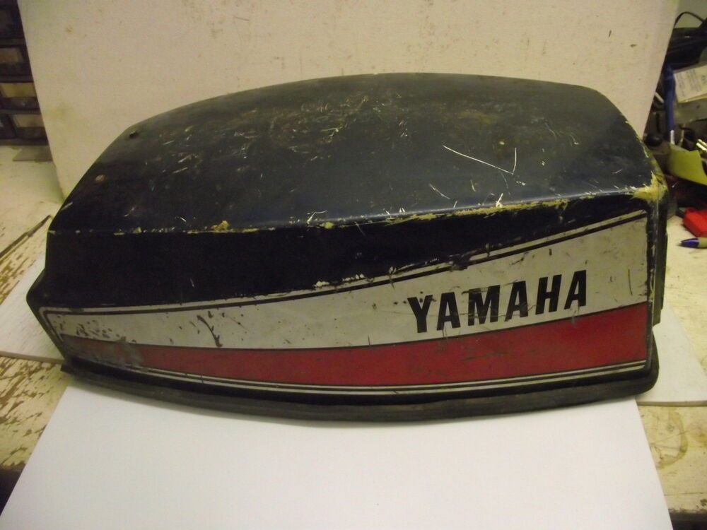 Yamaha outboard motor hood engine cover 8 hp 8a models for Yamaha boat cover
